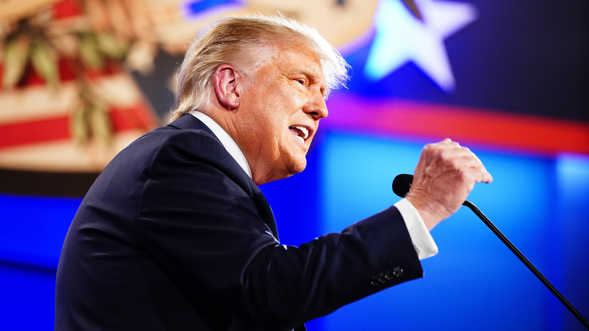First 2020 presidential election debate between US President Donald J. Trump and Democratic presidential candidate Joe Biden