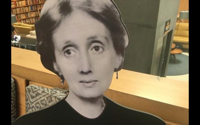 Calvario - Virginia Woolf. Foto de Archivo / Claudia Gómez.