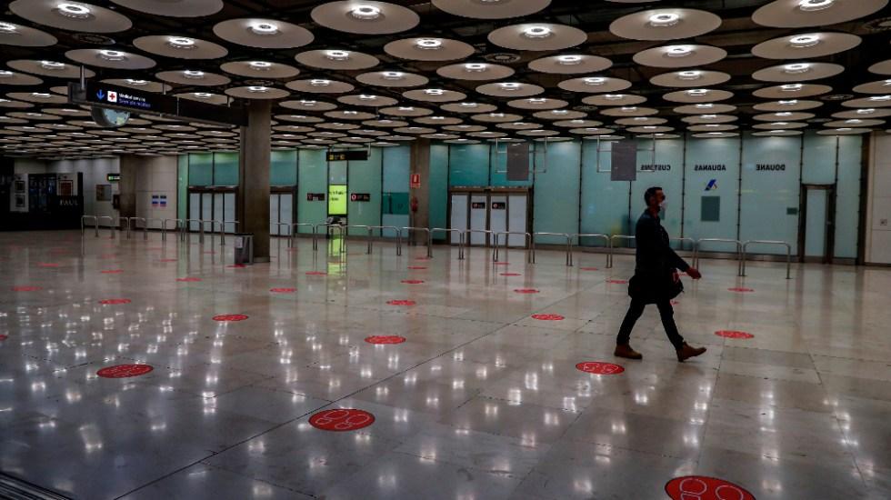 Madrid aplicará restricciones de movilidad en la toda la capital desde hoy - Foto de EFE