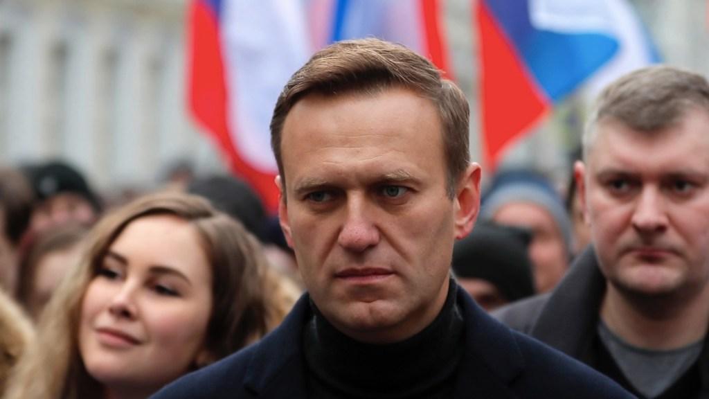 Detienen a aliada de Navalni por entrar en domicilio de supuesto agente del FSB - Alexéi Navalni. Foto de EFE
