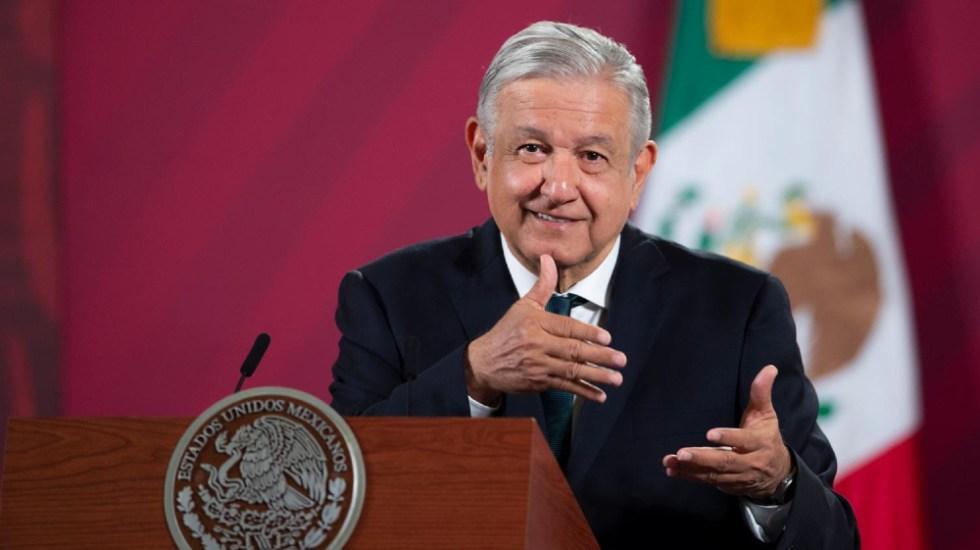 Aprobación de López Obrador baja al 59 por ciento en octubre, según un sondeo - Foto de lopezobrador.org.mx