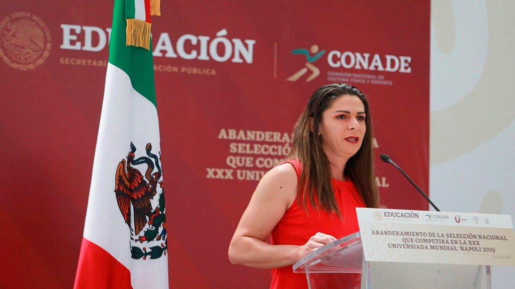 Ana Gabriela Guevara va por la gubernatura de Sonora por el PT; dejará cargo como titular de Conade - La titular de CONADE contenderá por la gubernatura de Sonora. Foto Twitter  @AnaGGuevara
