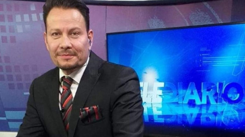 Asesinan en Chihuahua al periodista Arturo Alba - El periodista y conductor, Arturo Alba Medina. Foto de Telediario