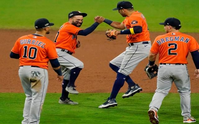 Astros de Houston derrotan 7-4 a Rays de Tampa Bay; fuerzan a séptimo partido - Foto Twitter @LosAstros