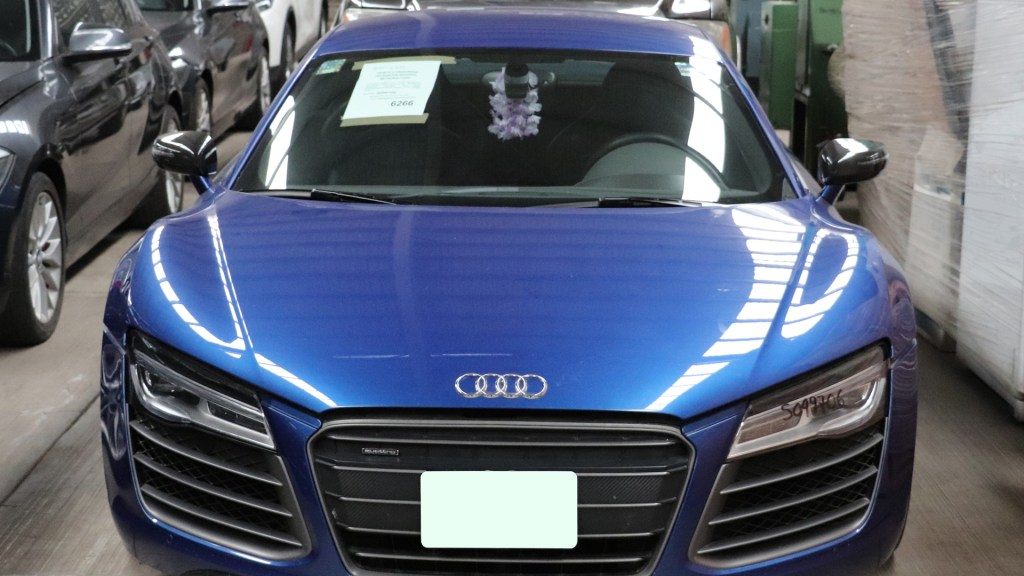 Próxima subasta de Indep incluirá autos, inmuebles y escurridores de trastes - Audi que subastará Indep. Foto de Indep