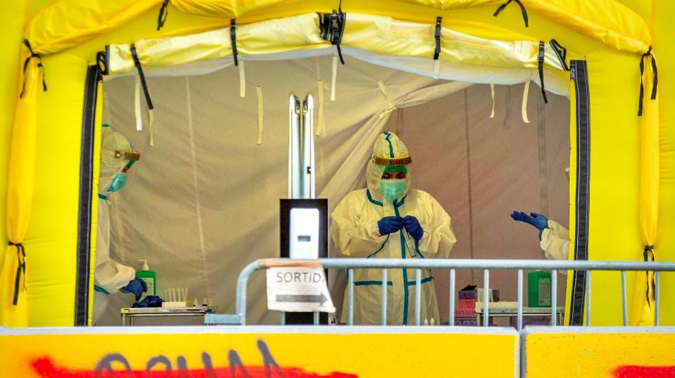 España notifica 19 mil 765 nuevos contagios y 168 muertos más por COVID-19 - Foto de EFE