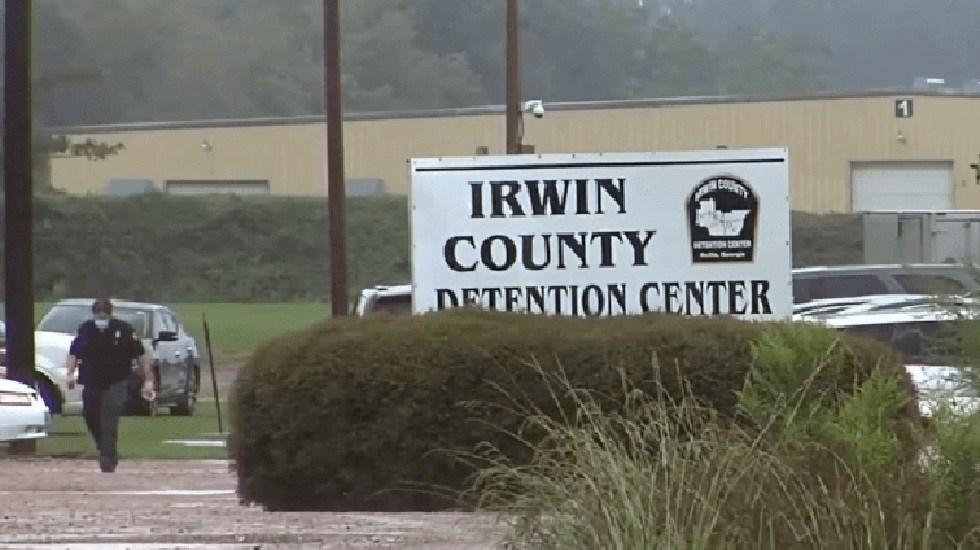 """México verifica cirugías """"irregulares"""" a migrantes detenidas en EE.UU. - Centro de detención de migrantes de Irwin, Georgia. Foto de WFXL"""