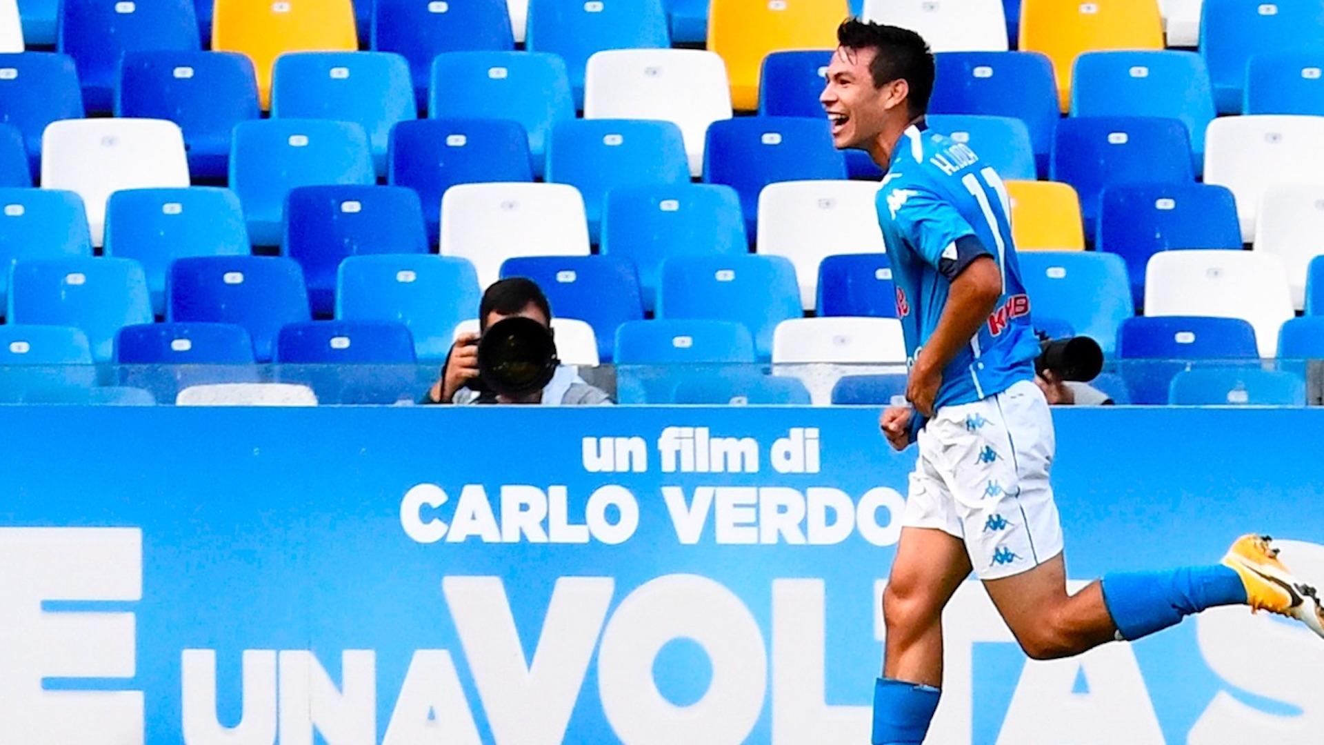 Video Chucky Lozano anota doblete en encuentro del Napoli contra Atalanta