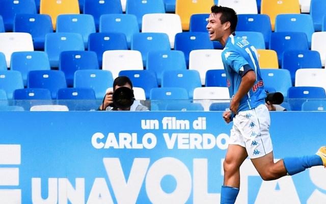 #Video Chucky Lozano anota doblete en encuentro del Napoli contra Atalanta - Foto de EFE