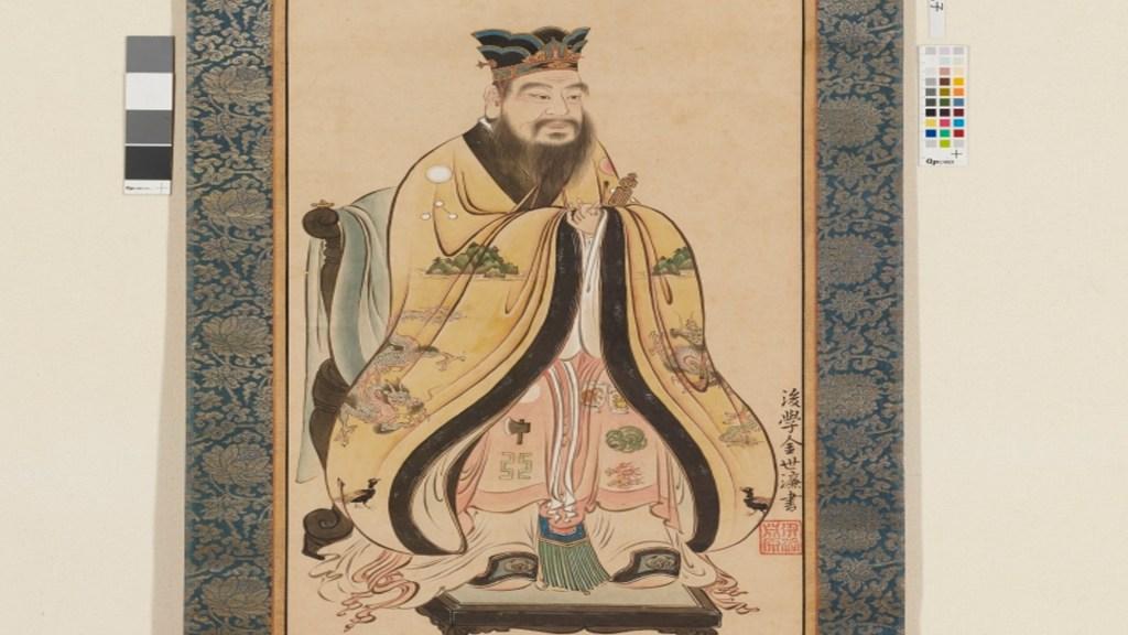 Hallan en Japón el manuscrito más antiguo con las enseñanzas de Confucio - Confucio. Foto Museo Nacional de Tokio
