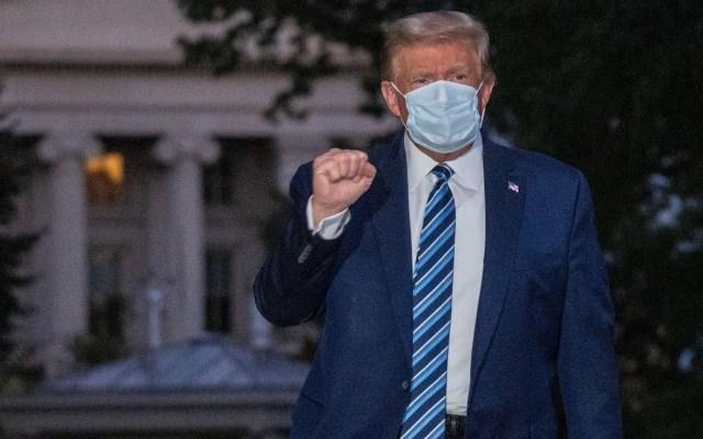Donald Trump podrá volver a participar en actos públicos desde el sábado, confirma médico - Donald Trump. Foto de EFE/EPA/KEN CEDENO / Archivo