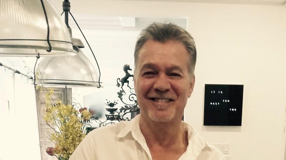 Murió el legendario guitarrista Eddie Van Halen a los 65 años - Eddie Van Halen. Foto de @eddievanhalen