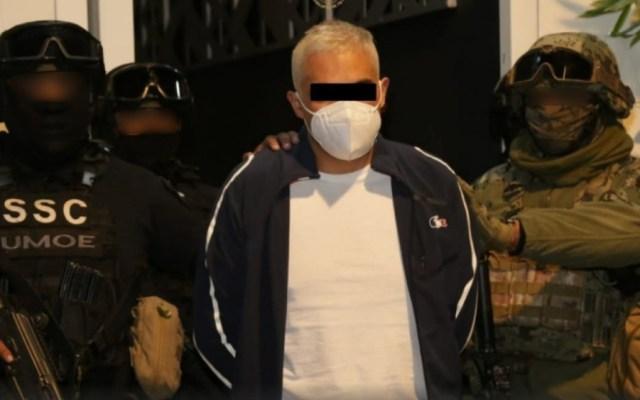 Capturan a 'El Lucas', presunto integrante de la Fuerza Anti Unión Tepito - Foto de Especial