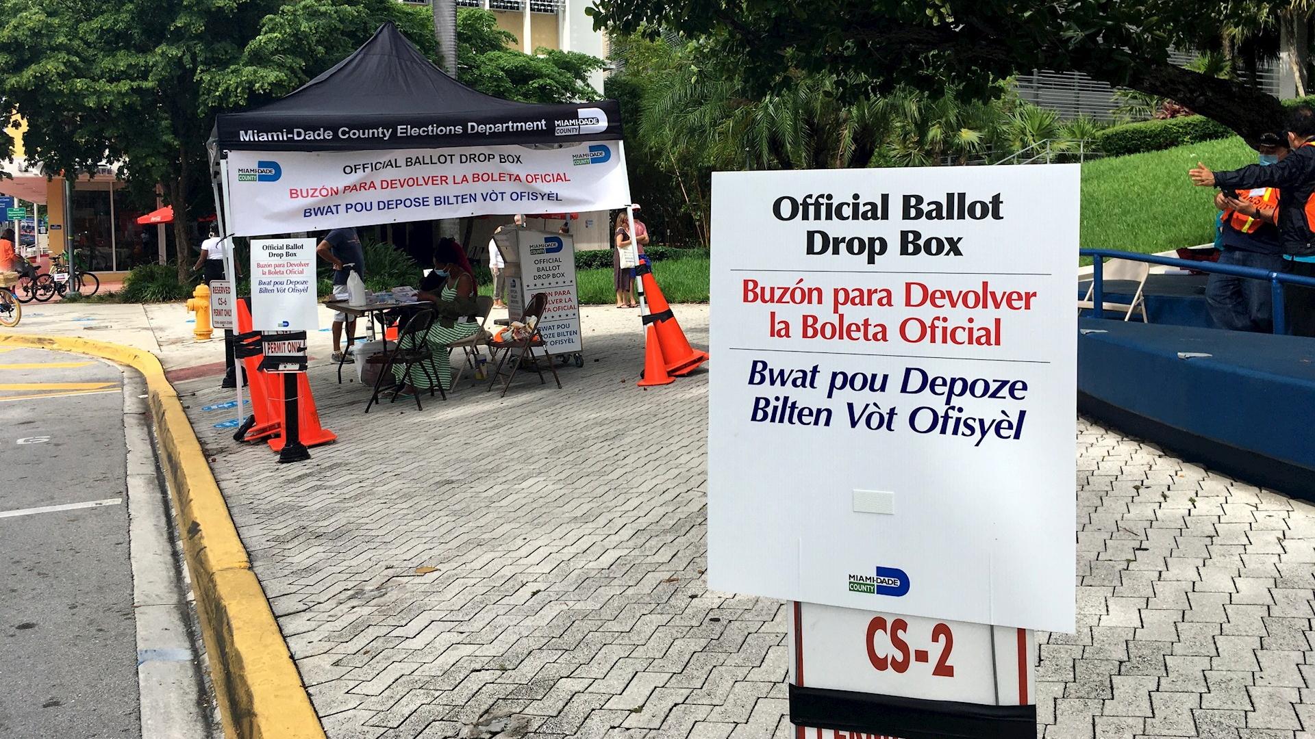 Elecciones votación anticipada Miami