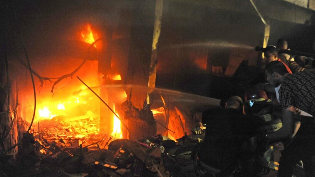 Explosión en panadería de Beirut deja cuatro muertos - Explosión en panadería de Beirut. Foto de Xinhua