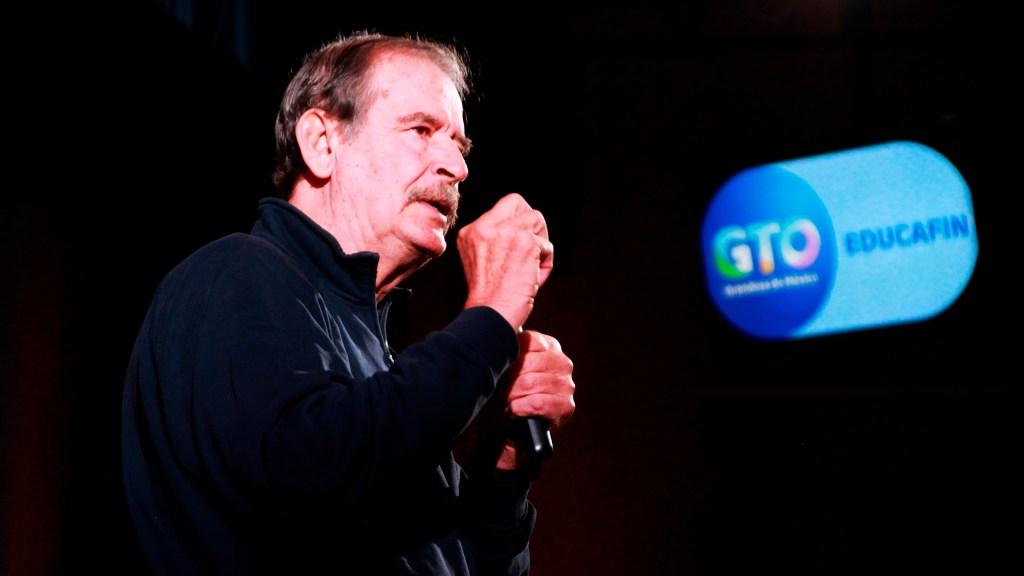 """""""Yo no soy Fox"""": AMLO asegura que hay condiciones para instaurar la democracia en México - El expresidente Vicente Fox Quesada. Foto Página contenidos.centrofox.org.mx/centro-fox"""