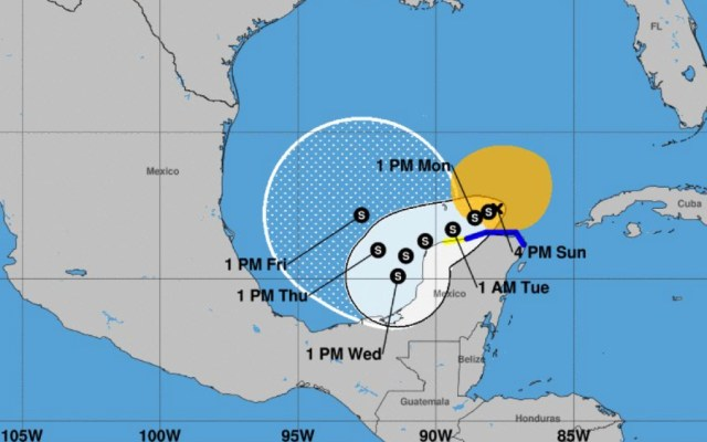 Ambiente seco y estable en gran parte del país; habrá lluvias en el sureste y Península de Yucatán - Foto de NOAA