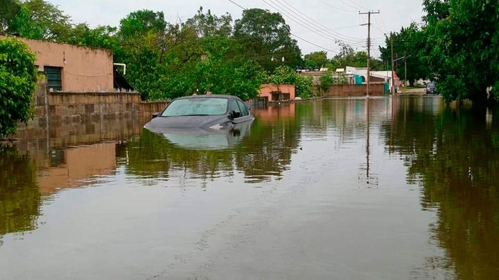 'Gamma' ocasiona esta noche lluvias muy fuertes en el sur del país: Conagua - La tormenta tropical Gamma dejó en Yucatán zonas inundadas, pérdidas en el campo y cientos de damnificados. Foto Twitter @wenaguayo