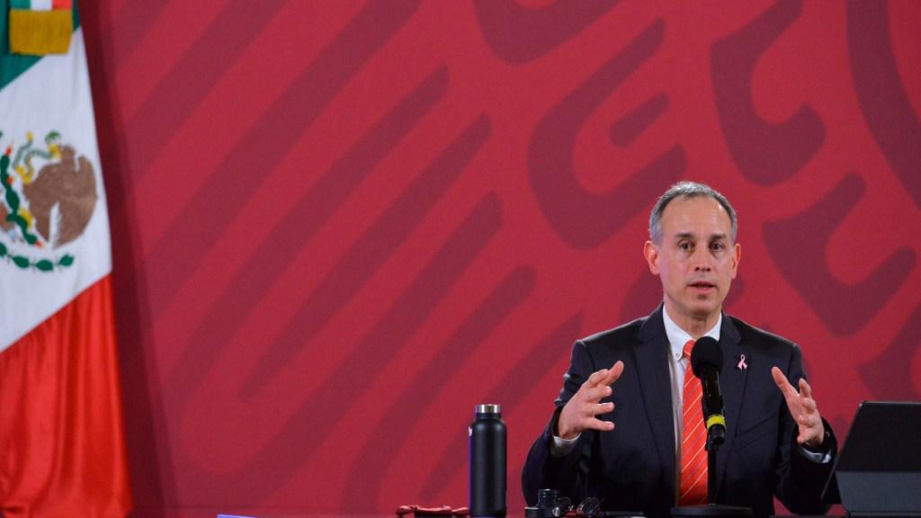Estrategia del Gobierno ante COVID-19 no cambiará ante rebrote, afirma López-Gatell - Foto Twitter @HLGatell