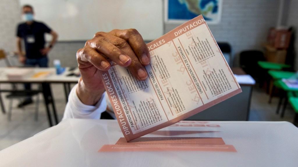 Esta es la boleta con la que mexicanos votarán por diputados federales - Coahuila elecciones 18 10 2020 2 INE Instituto Nacional Electoral