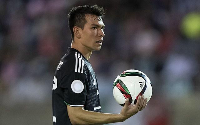Hirving Lozano causa baja de la Selección Nacional para gira por Holanda - En la foto, el mexicano Hirving Lozano. Foto de FMF