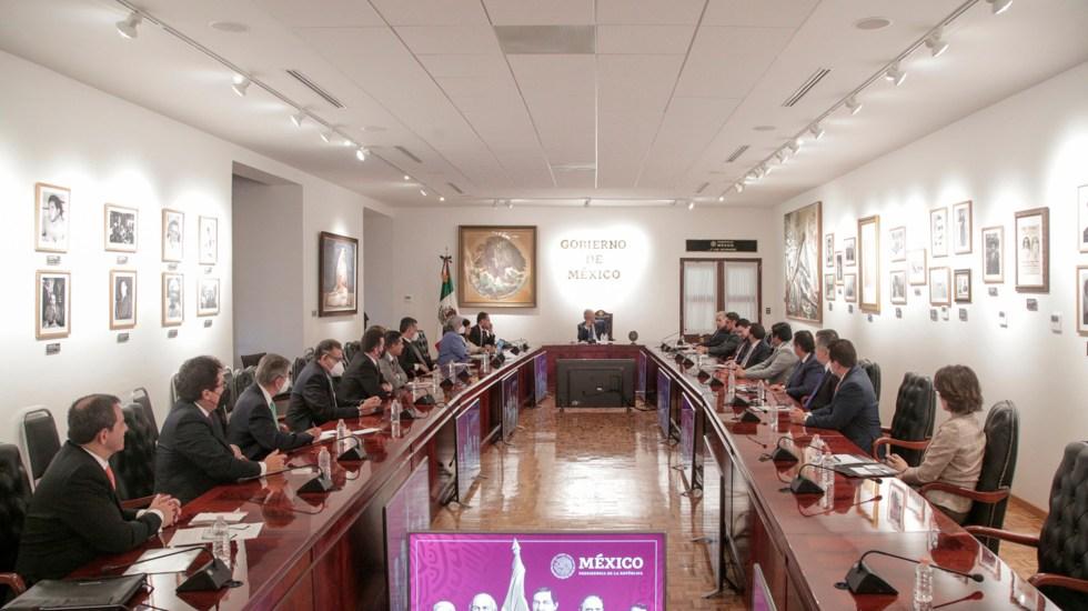 Director del Infonavit habló con López Obrador sobre iniciativa para reformar la ley del Instituto - Foto @lopezobrador_