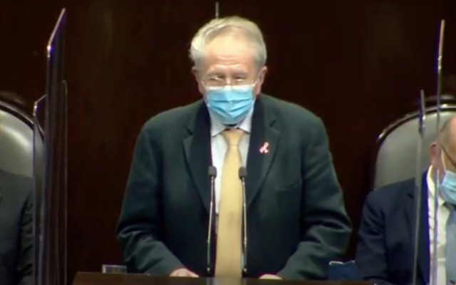 Fondo de enfermedades catastróficas no ha desaparecido, asegura Alcocer ante diputados - Captura de pantalla