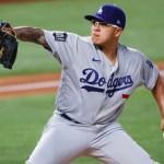 Julio Urías no abrirá el vital juego 5 con los Dodgers