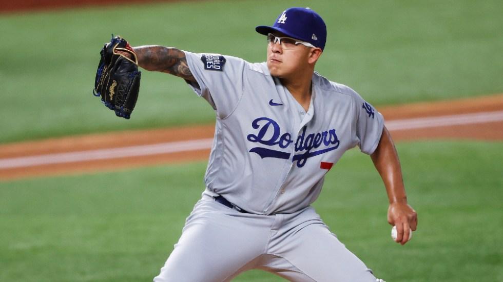 Julio Urías no abrirá el vital juego 5 con los Dodgers - Julio Urías