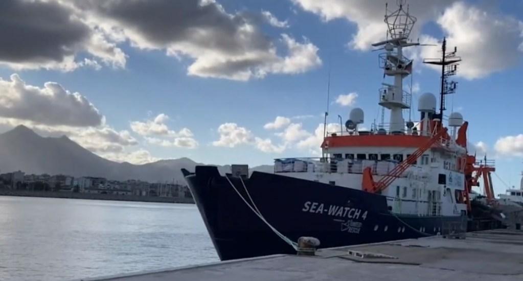Medicos sin Fronteras pide que se acabe inmovilización del Sea Watch4. Noticias en tiempo real