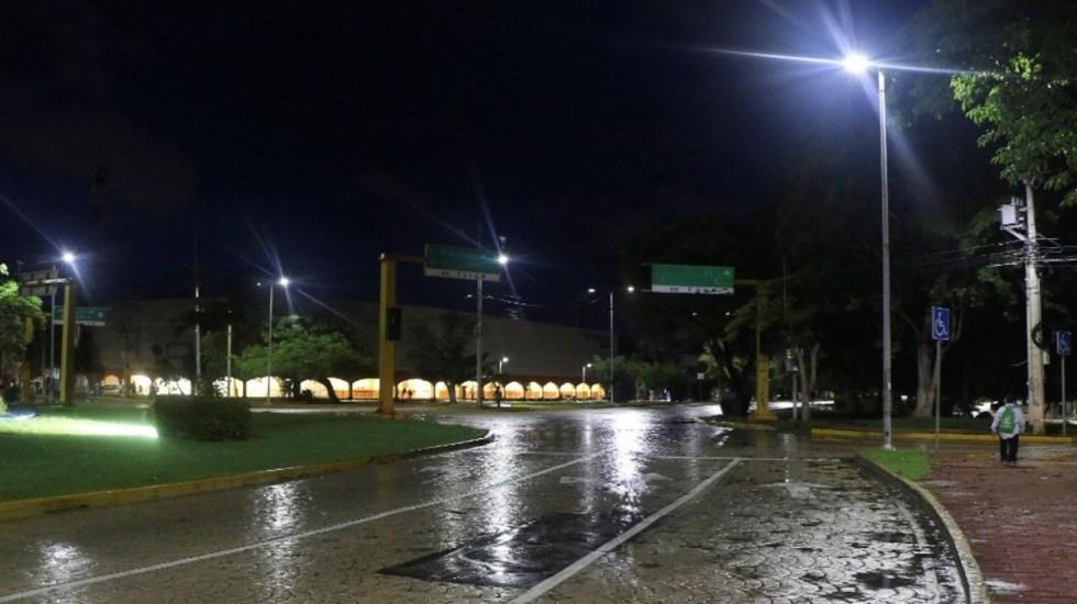 #Video Así se vivió el impacto de Delta al tocar tierra en Quintana Roo - Foto de Noticieros Televisa