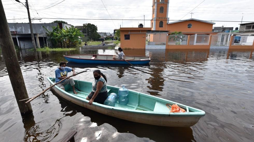 Si hay errores por censo para apoyos tras inundaciones, se van a enmendar: gobernador de Tabasco sobre bloqueos - Foto de EFE