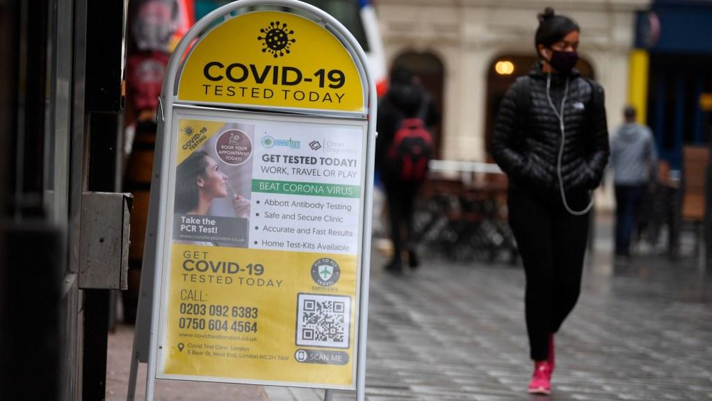 Casi seis millones de británicos forzados a más restricciones por COVID-19 - Foto de EFE