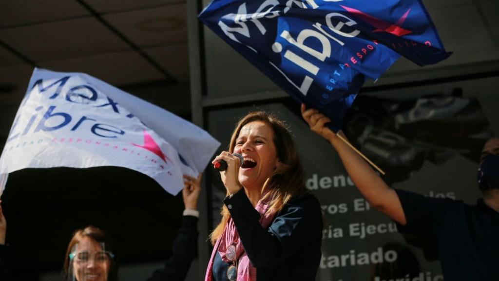 Magistrado Vargas excedió funciones en proyecto de resolución; hay suficientes razones para otorgar registro a México Libre: Margarita Zavala - Margarita Zavala, fundadora de México Libre. Foto de @MexLibre_