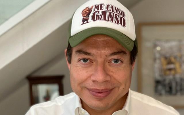 Invita Mario Delgado a Porfirio Muñoz a crear Consejo Consultivo en Morena - Foto Twitter @mario_delgado