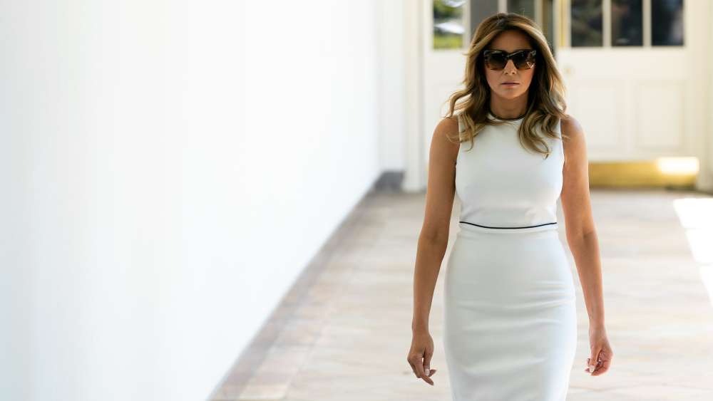 Melania Trump cancela viaje a Pensilvania por tos persistente tras superar COVID-19 - Foto de The White House