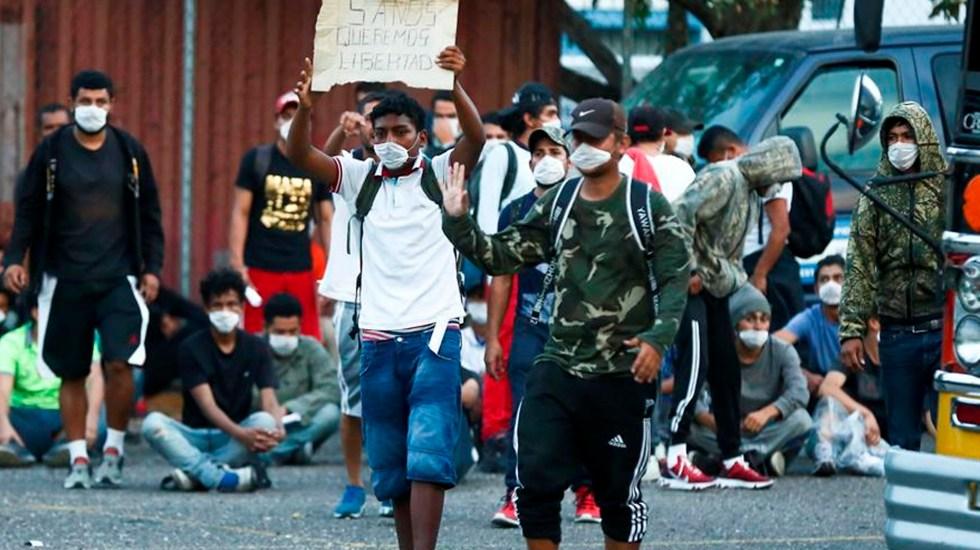 Detención de migrantes en frontera sur de EE.UU. cayó 53 por ciento en lo que va de 2020 - En estos nueve meses fueron deportados 31 mil 321 hondureños, un 65,4 por ciento más que las 90 mil 649 personas retornadas en el mismo periodo de 2019. EFE /STR /Archivo