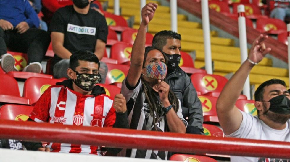 Abrir los estadios del futbol mexicano es bastante seguro, asegura experto - Foto de @ClubNecaxa