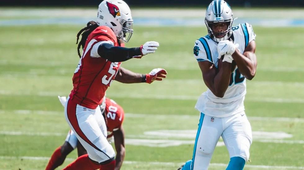Panthers de Carolina derrotan a Cardinals de Arizona; Teddy Bridgewater lanzó dos pases de 'touchdown' - Los 'Panthers' de Carolina vencieron este domingo a los 'Cardinals' de Arizona. Foto Sitio https://www.panthers.com/