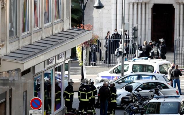 Atentado en iglesia de Niza, Francia, deja tres muertos; elevan alerta terrorista en el país - Foto de EFE