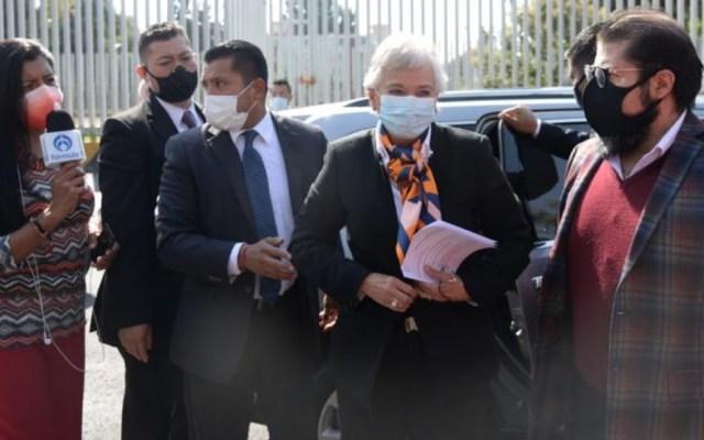 Minutos antes y sin avisar, aplazan la comparecencia de Olga Sánchez Cordero en San Lázaro - Olga Sánchez Cordero Segob Secretaria de Gobernación
