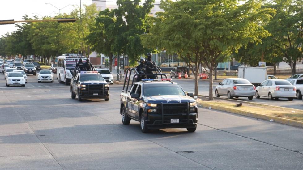 Despliegan operativo de seguridad en Culiacán por presunto 'Ovidio Fest' - Operativo en Culiacán, Sinaloa. Foto de @sspsinaloa1