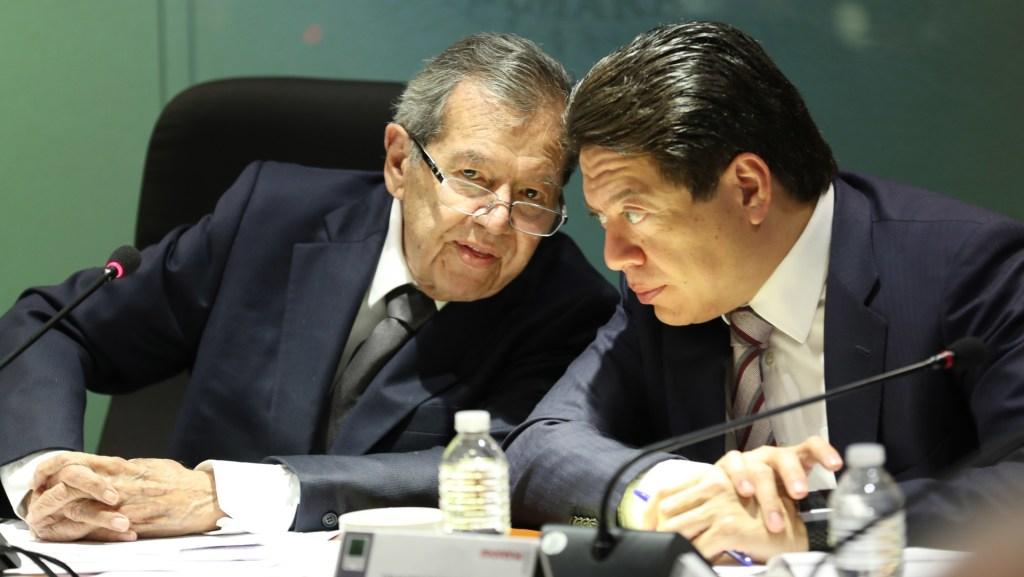 Muñoz Ledo acusa a Mario Delgado de bloquear su reelección como diputado federal - Foto de Cámara de Diputados