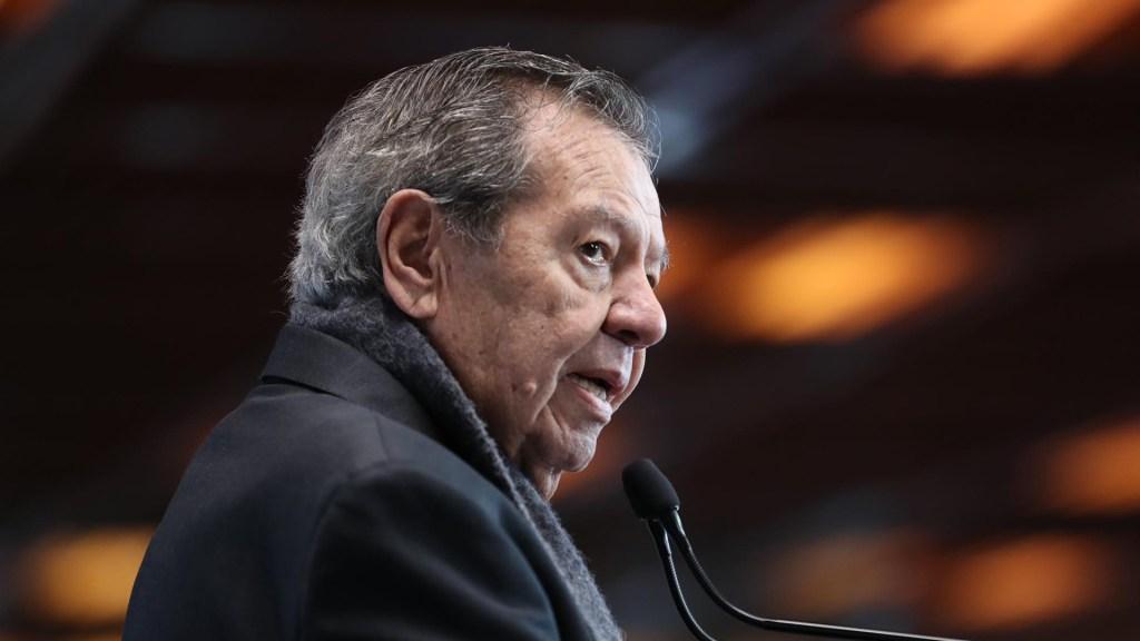 Reforma energética de AMLO podría incumplir acuerdos internacionales: Muñoz Ledo - Porfirio Muñoz Ledo. Foto de @MunozLedoPorfirio