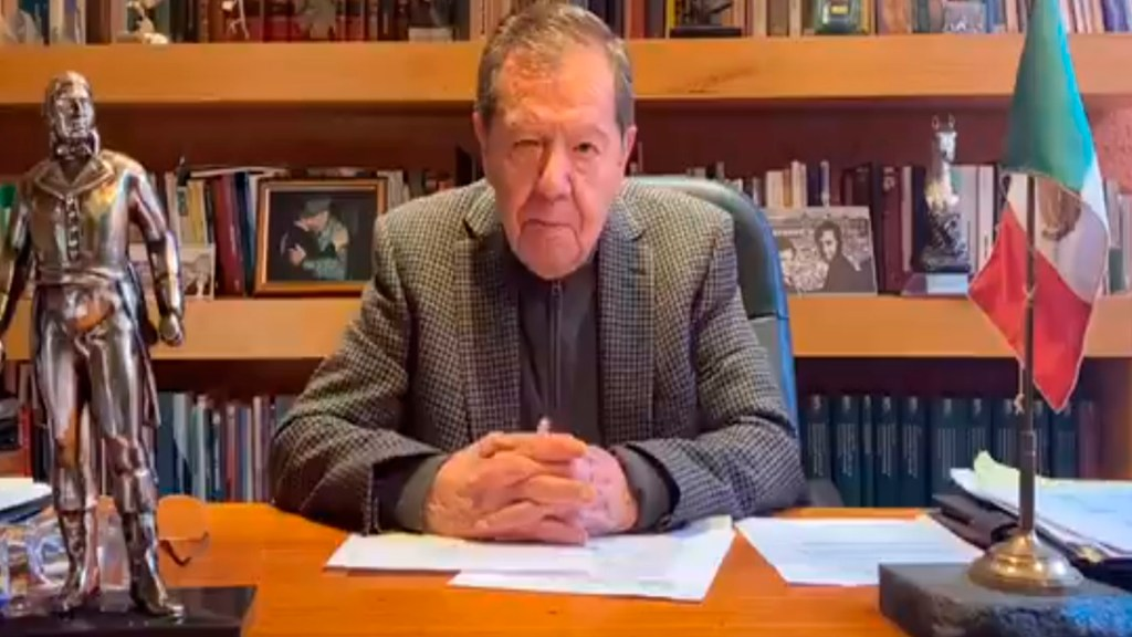 Encuesta para renovación de dirigencia de Morena la hicieron empresas al margen de la Ley, acusa Muñoz Ledo - Foto Captura de pantalla