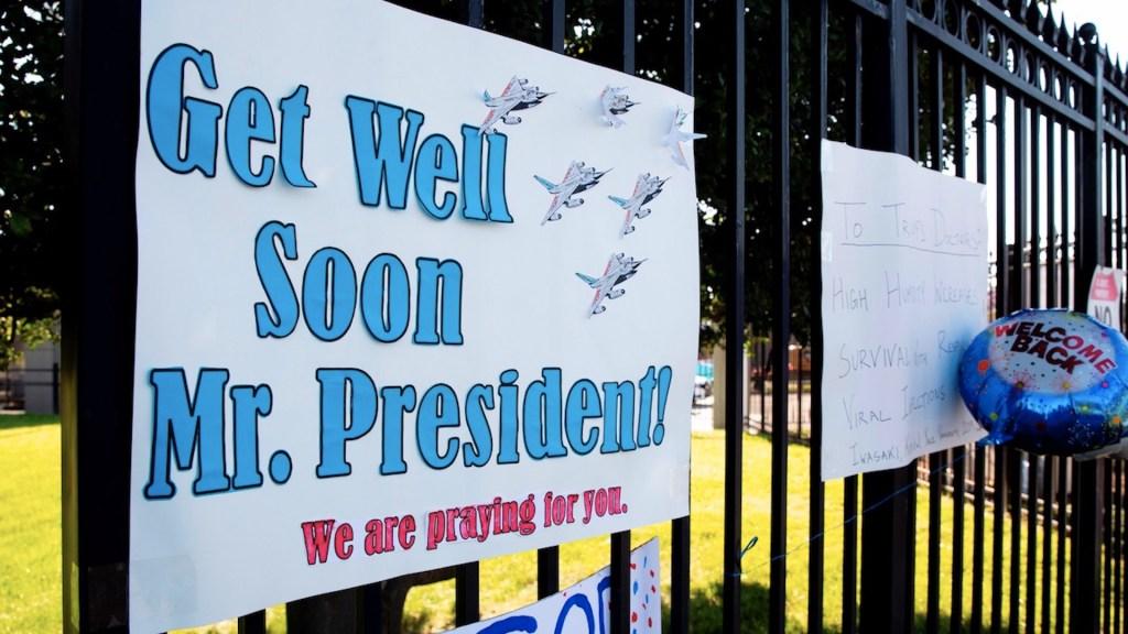 La Casa Blanca optimista sobre alta de Trump del hospital - Foto de EFE
