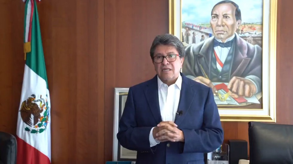 Mayoría legislativa en el Senado honrará veredicto de la SCJN, afirma Ricardo Monreal - Ricardo Monreal. Captura de pantalla