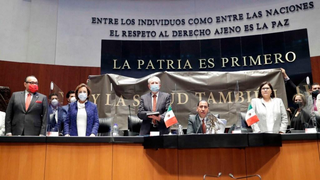 Senadores panistas denuncian subordinación del Poder Judicial a López Obrador - El Senado de la República. @senadomexicano
