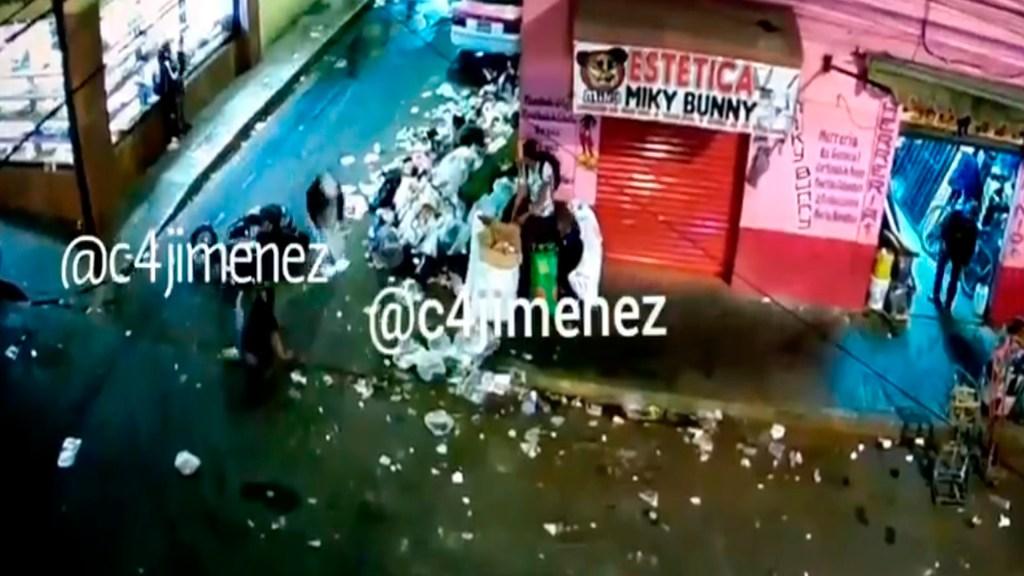 #Video Sicarios caen de motocicleta tras asesinar a hijo de operadora de 'El Lunares' - Foto Captura de pantalla