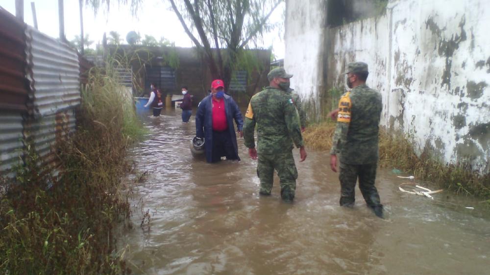 Más de 513 mil afectados por las lluvias en el sureste de México - Foto de @ProcivilTabasco